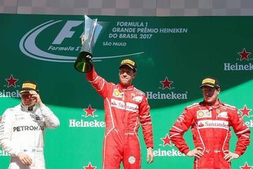 Vettel gana el Gran Premio de Brasil