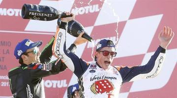 Marc Márquez consigue su sexto título mundial de motociclismo