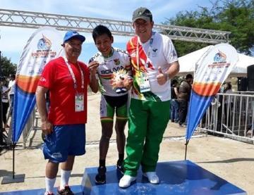 Gómez gana la primera medalla para Bolivia