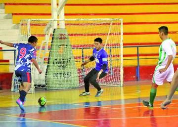 Potosí debuta con empate en el nacional de fútbol de Salón