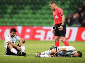 Argentina sufre un duro golpe ante Nigeria