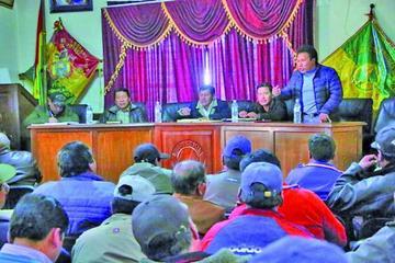 Los cooperativistas marcharán en apoyo a la repostulación de Evo Morales