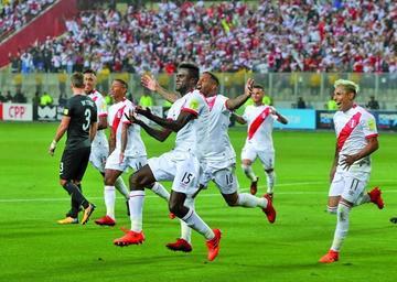 Perú se clasifica al Mundial tras vencer a Nueva Zelanda