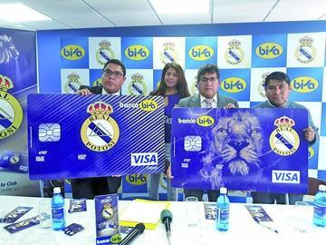 Bisa lanza la tarjeta de Real Potosí