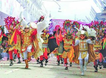 Diablada va a México a promocionar el carnaval
