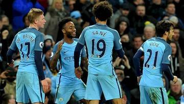 Manchester City da un paso de gigante hacia el título tras ganar en Leicester
