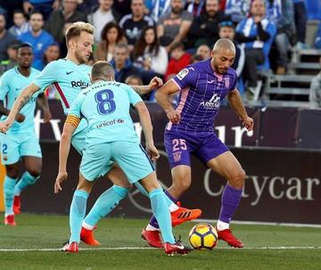 "Barcelona vence a Leganés en su visita a ""Butarque"""