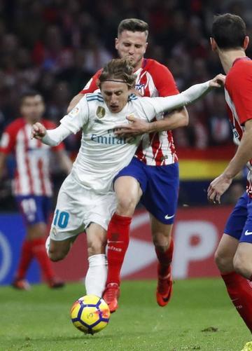 El clásico español queda empatado sin goles