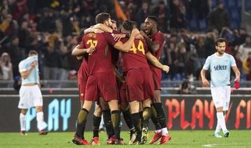 Roma gana el derbi ante Lazio