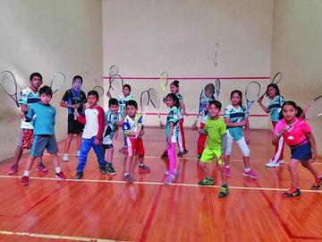 La disciplina del Squash va cobrando fuerza en Potosí