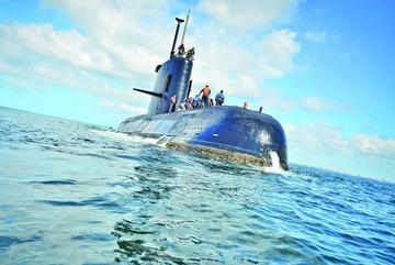 Aumenta rastreo de submarino desaparecido en aguas argentinas