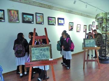 FIC abre muestra Potosí patrimonio