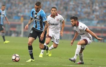 Gremio vence a Lanús en la primera final de la Libertadores