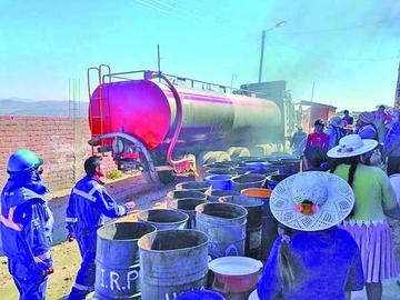 Mineros advierten que la falta de  agua paralizaría la economía local