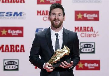 Messi gana su cuarta Bota de Oro