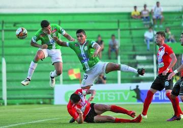 Nacional pierde en dos minutos de juego
