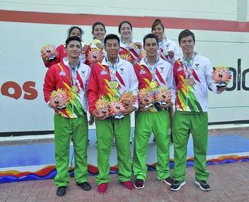 Ráquetbol logra cuatro oros para Bolivia