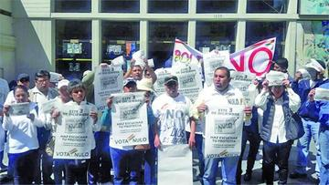 Intensifican la campaña del voto nulo y el MAS denuncia sabotaje
