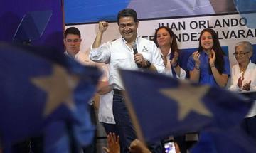 Hernández se proclama ganador en las elecciones de Honduras