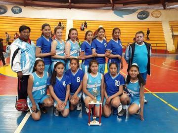 Oruro se corona campeón del nacional de básquet femenino