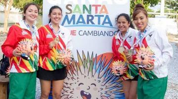 Bolivia logra cinco oros en los Bolivarianos