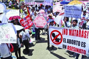 Iglesia católica reitera defensa a la vida y el rechazo al aborto