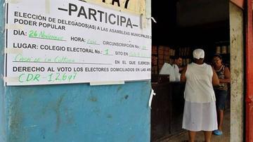 Cuba vota en municipales que inician el recambio generacional en el poder