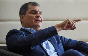 Rafael Correa está dispuesto a declarar sobre el caso Odebrecht