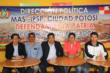 Nueva dirección municipal del MAS buscará la elección de Evo Morales