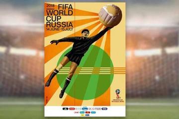 Presentan el afiche oficial del Mundial 2018