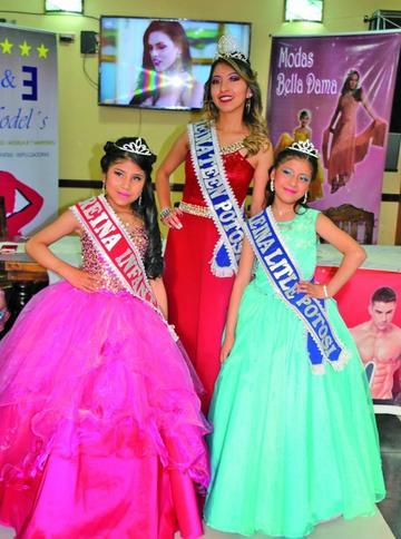 Presentan representantes  a reinado de belleza Bolivia