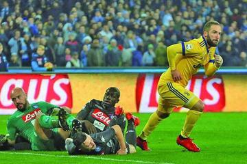 Higuaín da el triunfo a Juventus