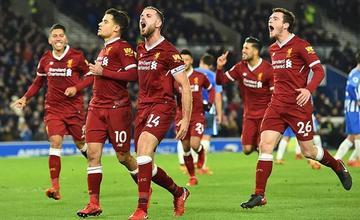 Liverpool prolonga su buena racha a costa de un frágil Brighton