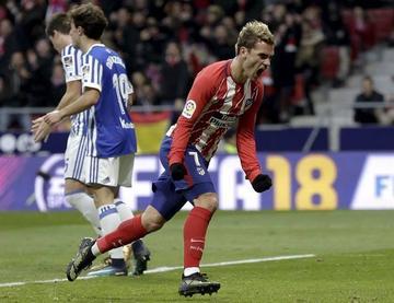 Griezmann acerca a Atlético al liderato