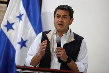 El candidato logró 42,98 % de los votos contra el 41,39 % del opositor Salvador Nasralla.
