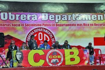 COB resuelve convocar  a un congreso ordinario para abril del año 2018