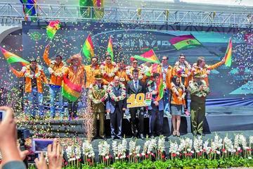 Bolivia ya vive la fiebre del Dakar 2018