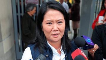 Keiko Fujimori rehusa presentarse a declarar por caso Odebrecht