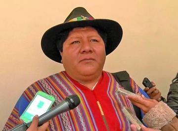 CAOP desconoce a dirigente nacional Hilarión Mamani