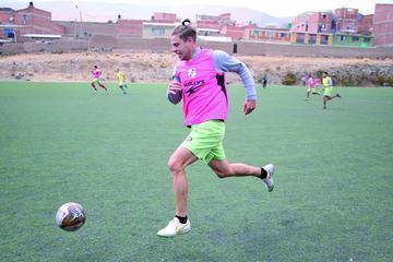 Cristian Alessandrini regresa al primer plantel