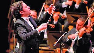 Dudamel dirige el  recital del Nobel