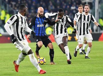 Juventus e Inter empatan sin goles en el Derbi italiano