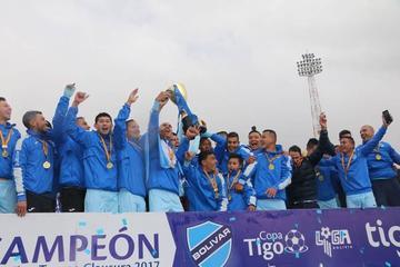 Bolívar logra el bicampeonato en Potosí