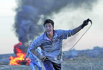 Israel bombardea las posiciones palestinas en la Franja de Gaza