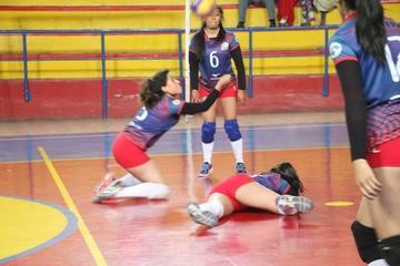 Selección potosina vuelve a caer en el nacional de voleibol