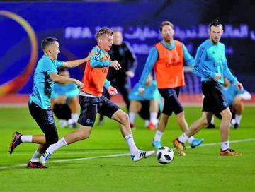 Real prepara la final de Mundial de Clubes
