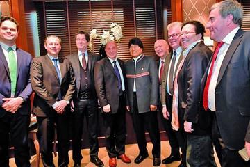 Bolivia-Alemania-Suiza proyectan entrega del bioceánico en 2025