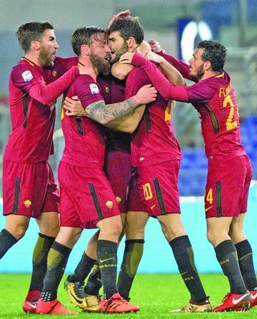El argentino Fazio le da el triunfo a Roma