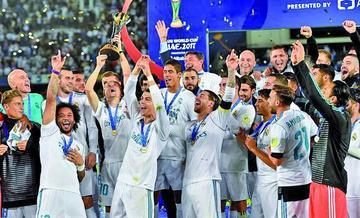 Real se corona campeón del Mundial de Clubes