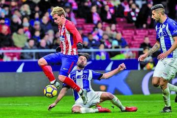 Atlético de Madrid gana y se coloca segundo en la liga